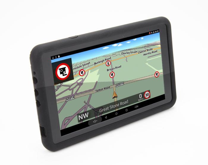 TX750 truck sat nav gatso speed camera alert