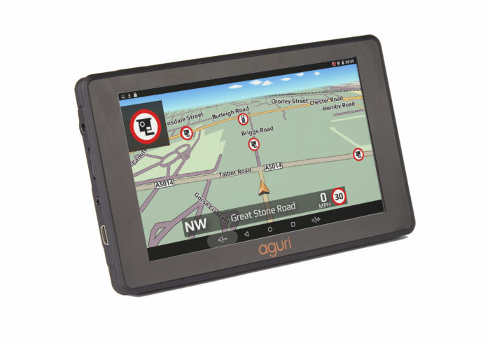 RV520 motorhome sat nav gatso speed camera alert