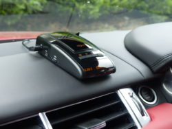 Speed Trap Detector in car