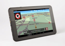 TX720 truck sat nav gatso speed camera alert