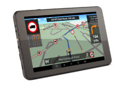 TX720 truck sat nav screen