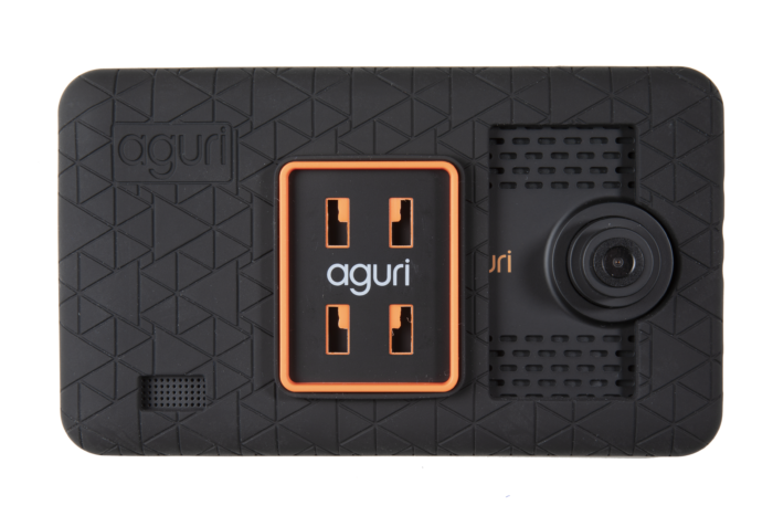 a photo of the Aguri AGR740 protective rubber case