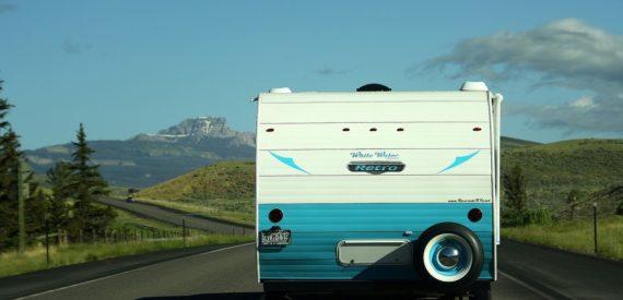 rear of campervan