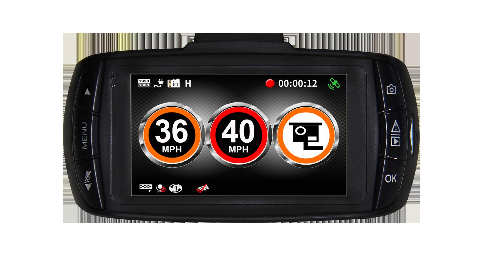 DX1000 rear gatso speed trap alert