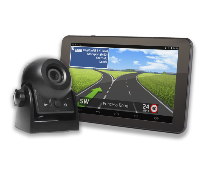 TX750 truck dash cam with separate mount camera