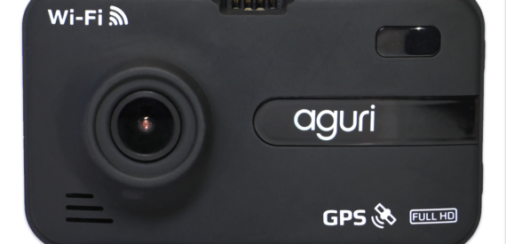 Aguri DX2000 GPS dash cam and speed trap detector