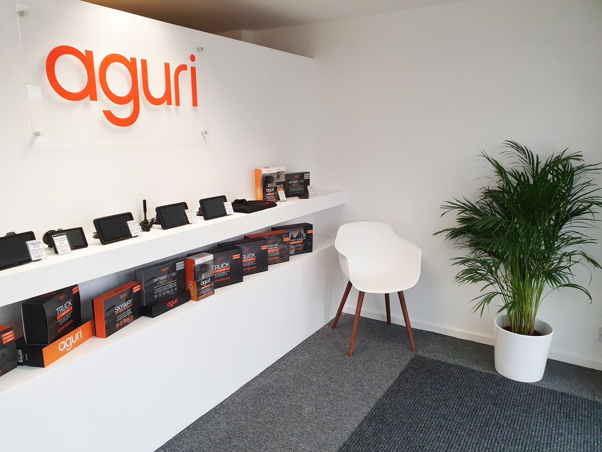 Aguri showroom Trafford Park