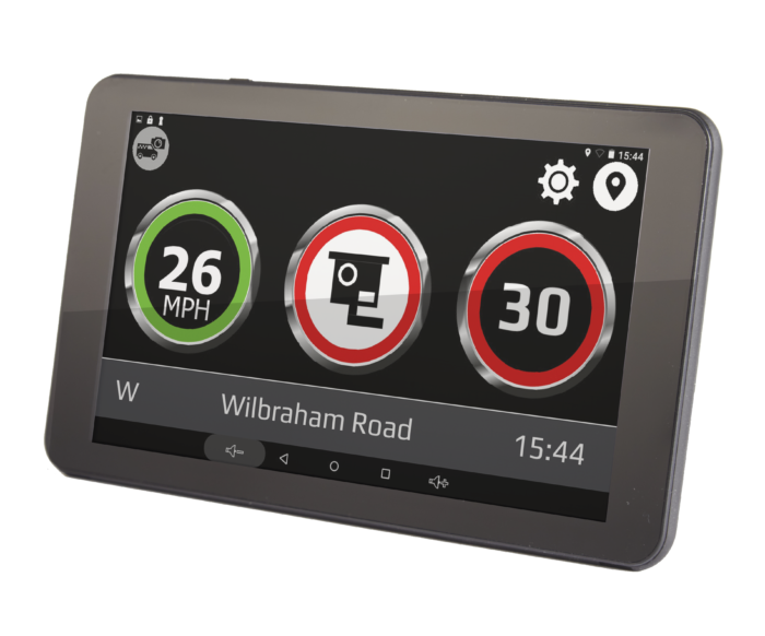 car sat nav with built-in dash cam and wi-fi