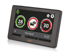 Car sat nav with built-in dash cam and mobile speed trap alert