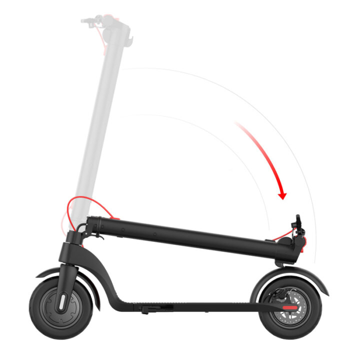 collapsable e-scooter