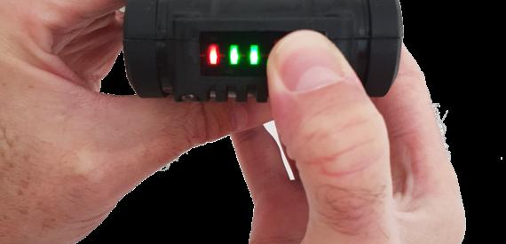 Aguri Power Clean battery status