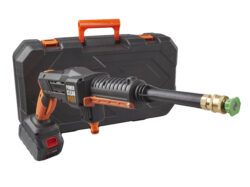 a picture of the Aguri power clean P40 max cordless washer with carry case