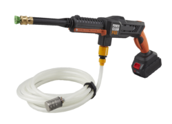 a picture of the Aguri power clean P40 max cordless washer with hose